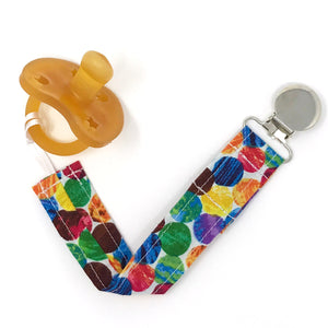 Very Hungry Caterpillar Pacifier Clip - Petite Chalet