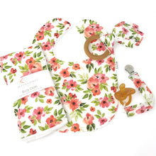 Fall Floral Print Baby Gift Set - Petite Chalet