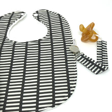 Gray and White Stripe Gift Set - Petite Chalet