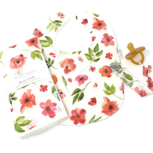 Peach Floral Watercolor Gift Set - Petite Chalet