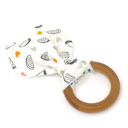 Taco Love Bunny Ear Teether - Petite Chalet