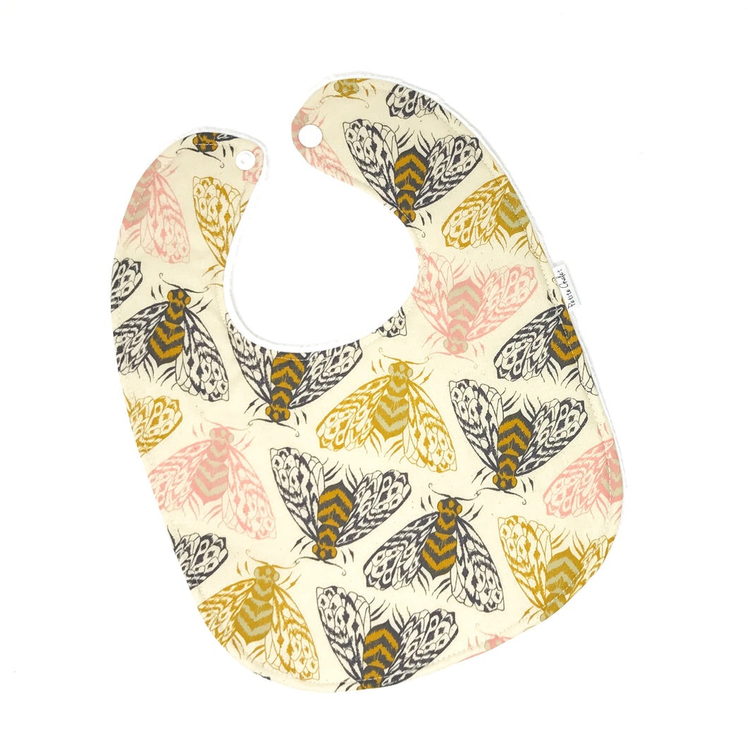 Magic Forest Bees Baby Bib - Petite Chalet