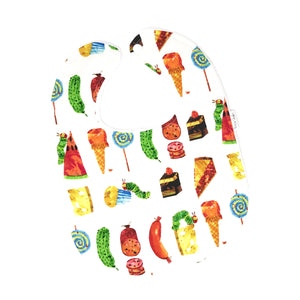 Very Hungry Caterpillar Snacks Baby Bib - Petite Chalet