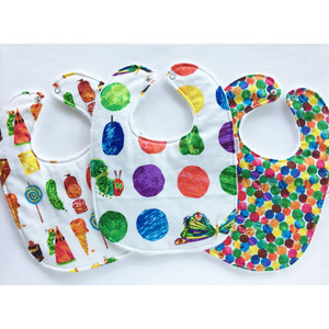Very Hungry Caterpillar Baby Bib Trio - Petite Chalet