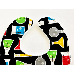 Science Fair Test Tubes Baby Bib - Petite Chalet