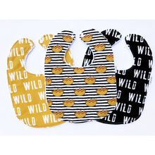 Where The Wild Things Are Baby Bib Trio - Petite Chalet