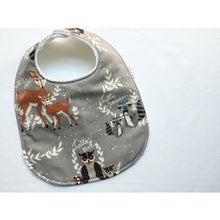 Hello Bear Woodland Animals Baby Bib - Petite Chalet