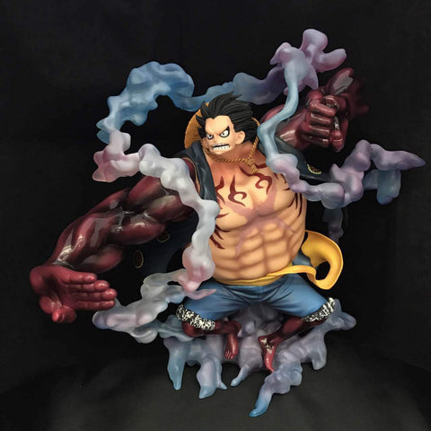 Figure 28CM Big Size One Piece Gear Fourth Monkey D Luffy