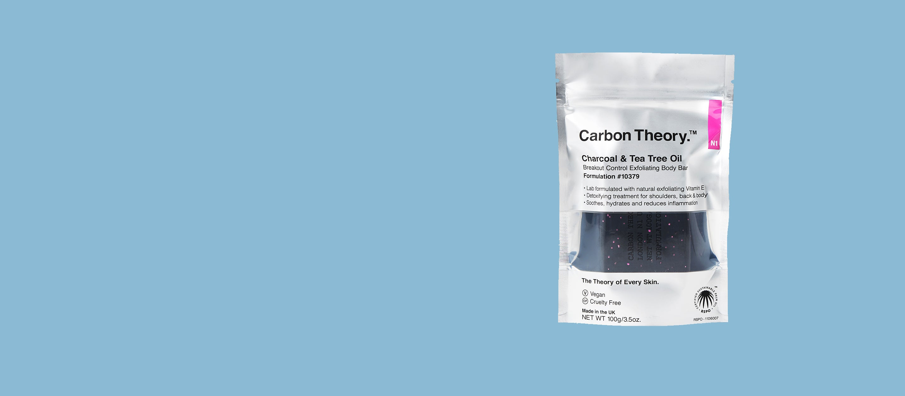 Carbon Theory Exfoliating Body Bar
