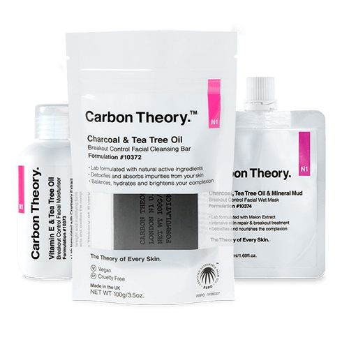Carbon Theory daily clean skin regime
