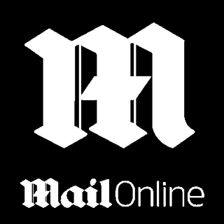 Daily Mail Logo Mail Online Black White