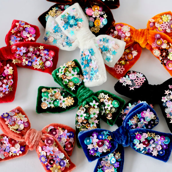 Fall / Winter 2020 Velvet Hair Bow Collection