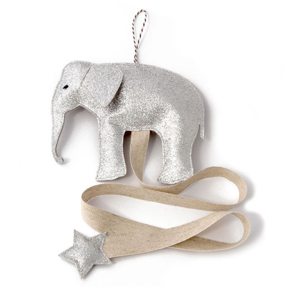 Hair Accessories Organizer Silver Elephant