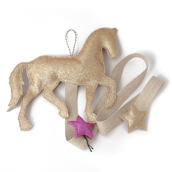 Hair Accessory Organizer - Pony - Gold