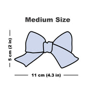 Medium size bow graphic.