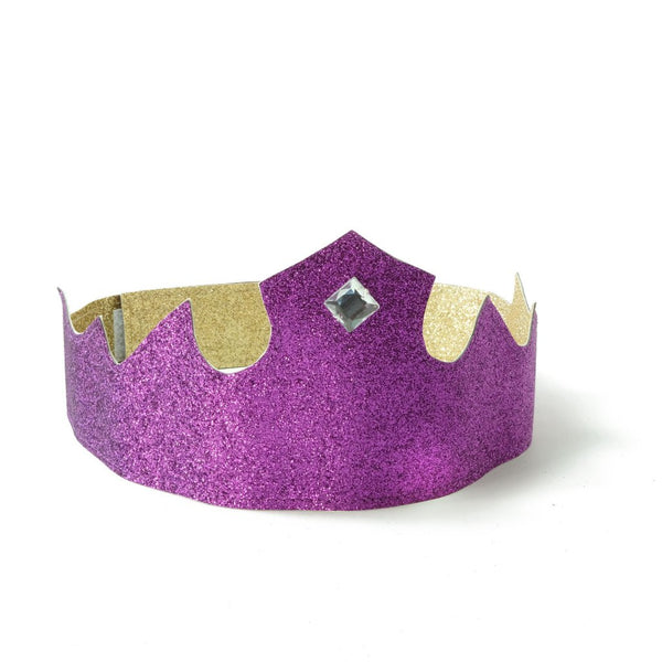 Purple and Gold Crown Reversible