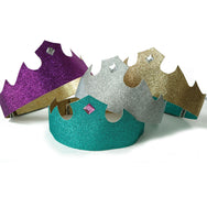 Tiara crowns in four colors