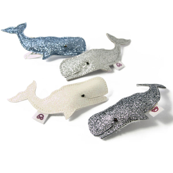 whale hair clip color options