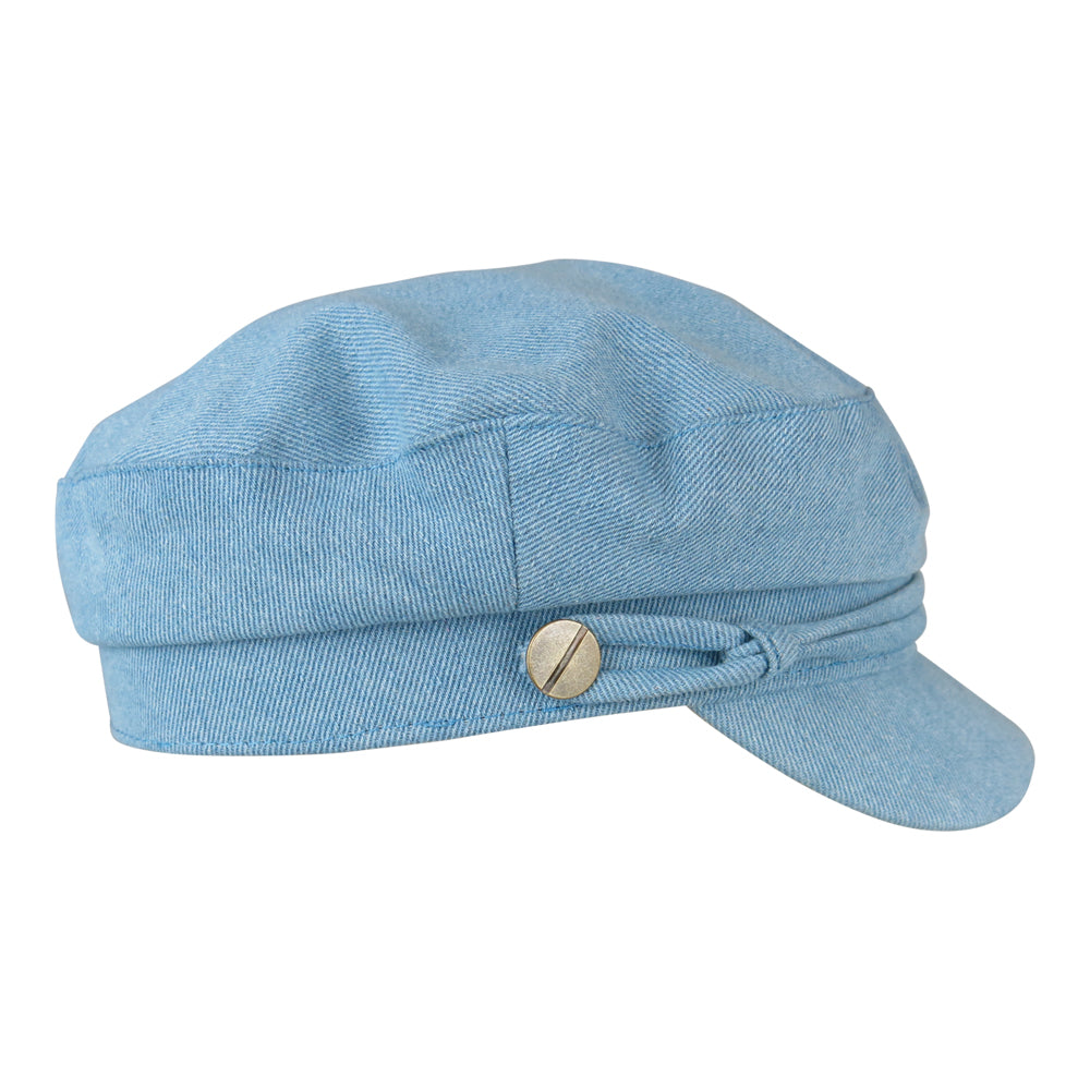 MYRANDA // Denim Cap