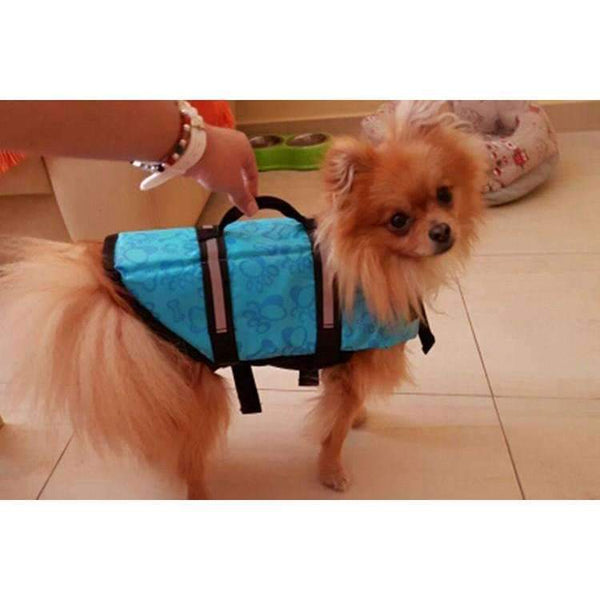 Breathable Dog Life Jacket Vest For Safety Swimming