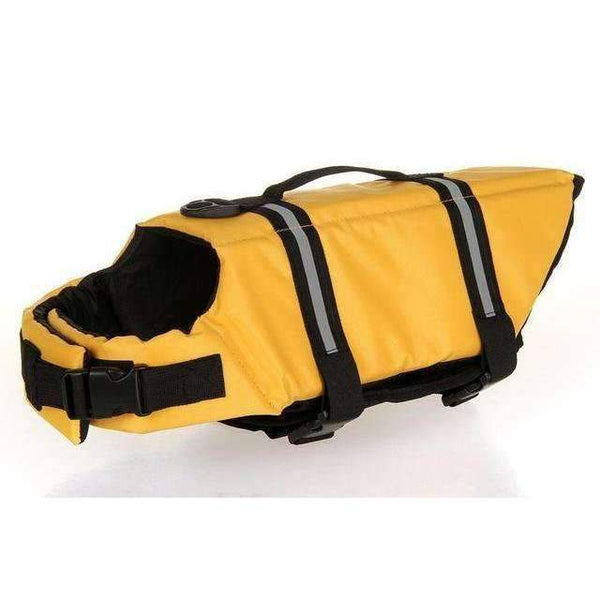 Breathable Dog Life Jacket Vest For Safety Swimming Yellow / L