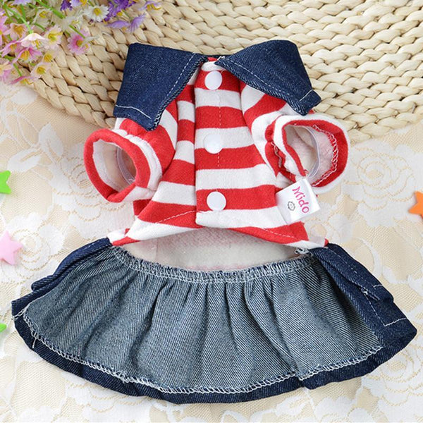 Cute Bear Jumpsuit and Dress Dog Clothes For Small Dogs And Puppies