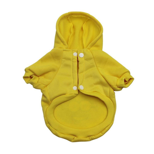 Minions Sulley Dog Hoodie Clothes For Small Dogs And Puppies