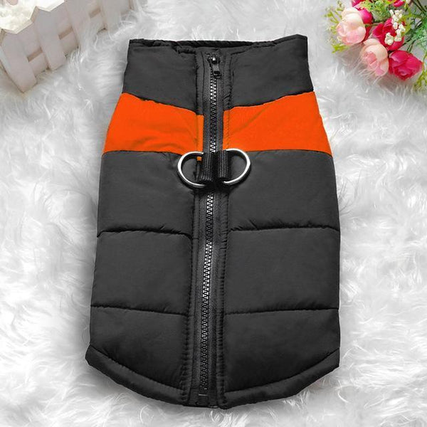 Size S-7XL Waterproof Dog Vest Jacket Red / S
