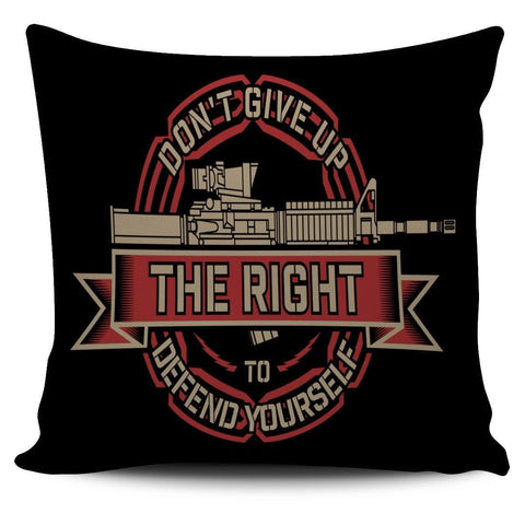 Don't Give Up- Pillow Cover- Free Shipping