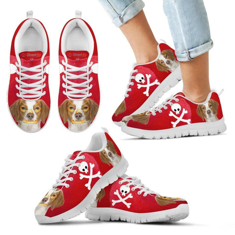 Brittany Halloween Print Running Shoes For Kids/Women-Free Shipping