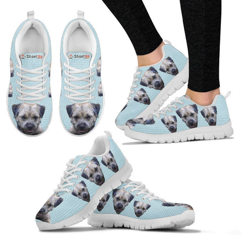 Customized Dog Print Sneakers-For Women-Express Shipping-Designed By Benthe Schou
