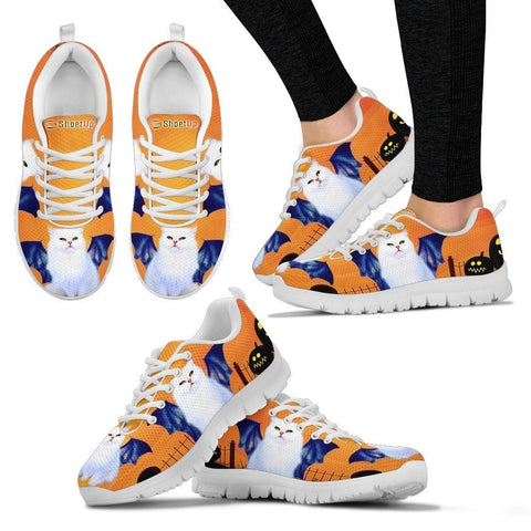 Persian Cat (Halloween) Print-Running Shoes For Women/Kids-Free Shipping