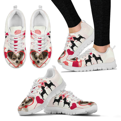Valentine's Day Special Chihuahua Dog Print Running Shoes For Women- Free Shipping