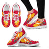 Valentine's Day Special-Goldfish On Red Print Running Shoes For Women-Free Shipping