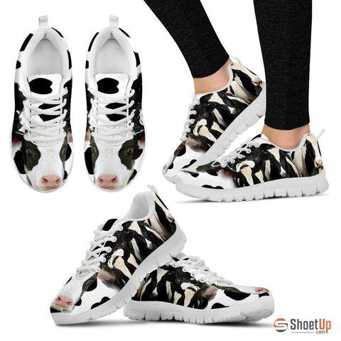 Cow Print Running Shoe For Women- Free Shipping