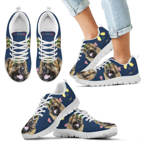 Leonberger Happy Halloween Print Running Shoes For Kids-Free Shipping