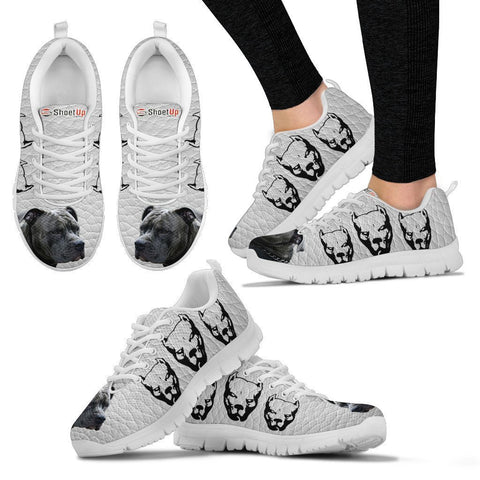 Amazing Pitbull  Dog-Women's Running Shoes-Free Shipping