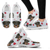 Valentine's Day Special-Rottweiler Print Running Shoes For Women-Free Shipping