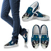 Valentine's Day Special-Border Collie Print Slip Ons For Women-Free Shipping