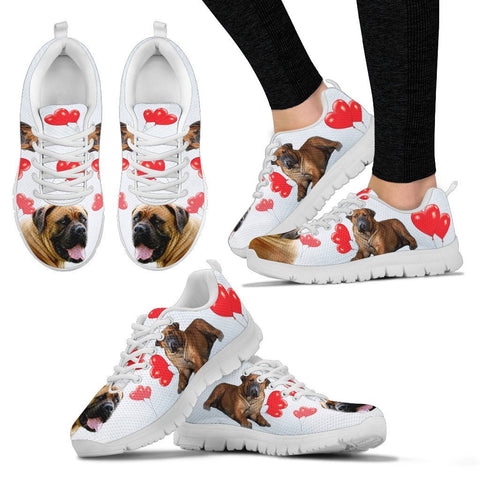 Valentine's Day Special-South African Boerboel Print Running Shoes For Women-Free Shipping