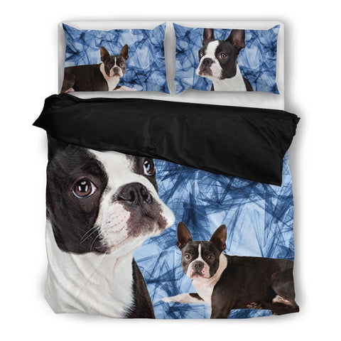Boston Terrier Bedding Set- Free Shipping