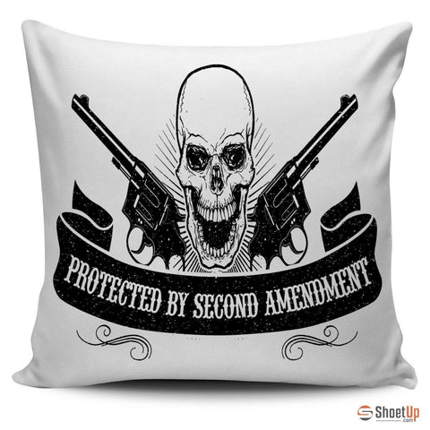 Protected By Second Amendment- Pillow Cover- Free Shipping