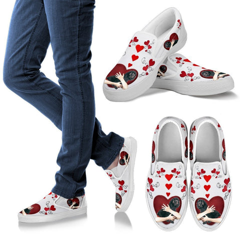 Valentine's Day Special-Cockapoo Dog Print Slip Ons For Women-Free Shipping