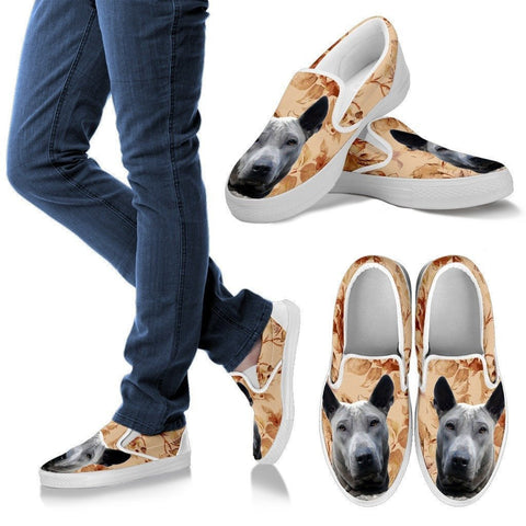 Thai Ridgeback Dog Print Slip Ons For Women-Express Shipping