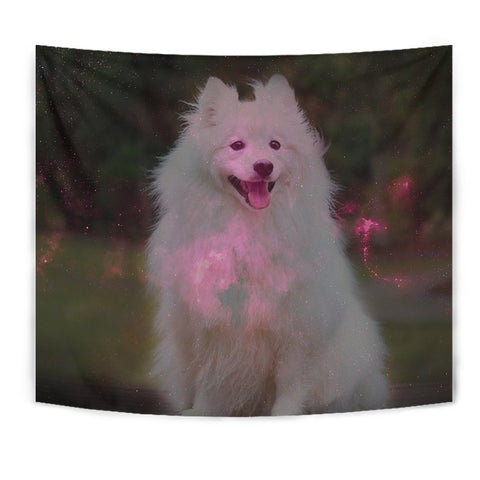 Amazing Spitz Dog Print Tapestry-Free Shipping