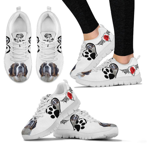 Valentine's Day Special-Saint Bernard Print Running Shoes For Women-Free Shipping