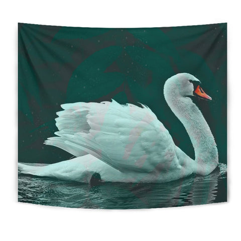 Lovely Swan Bird Print Tapestry-Free Shipping