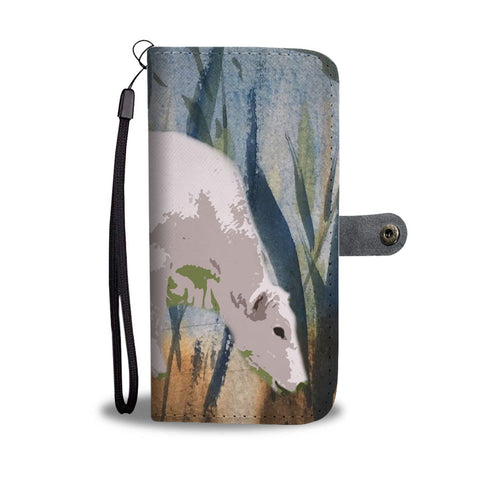 Chianina Cattle (Cow) Print Wallet Case-Free Shipping