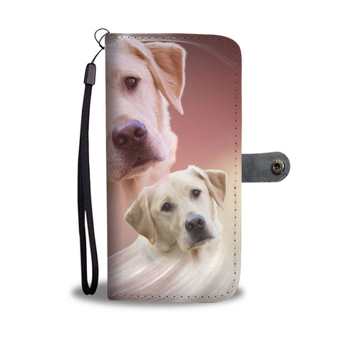 Amazing Labrador Retriever Wallet Case- Free Shipping