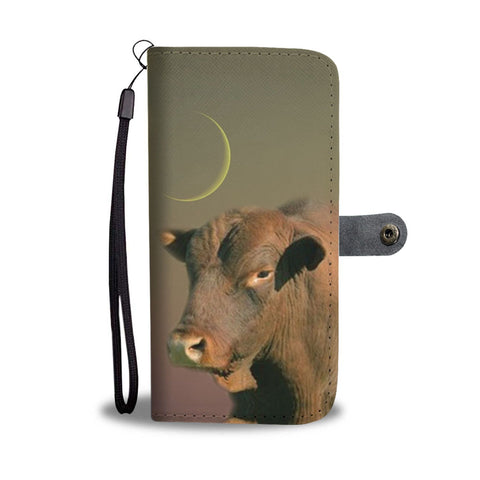 Senepol Cattle (Cow) Print Wallet Case-Free Shipping